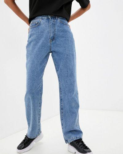 Прямые джинсы - голубые Missguided