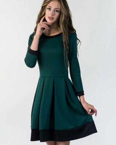 Платье весеннее зеленый Подіум