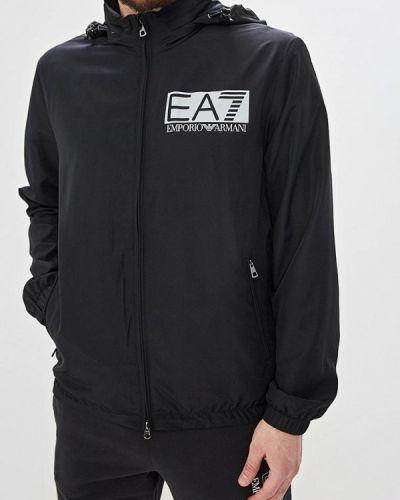 Ветровка черная Ea7
