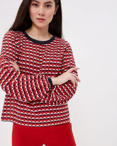 Блузка с длинным рукавом красная весенний Eliseeva Olesya