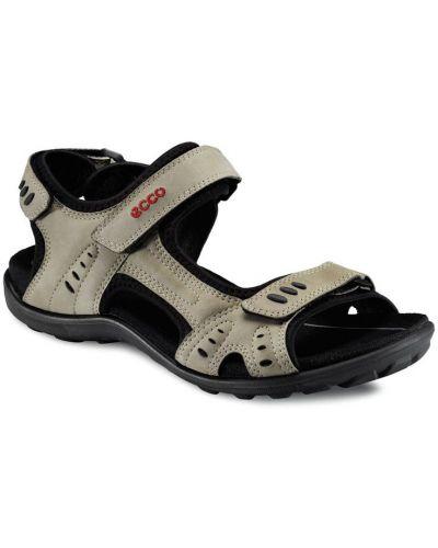 Спортивные сандалии серые с подкладкой Ecco