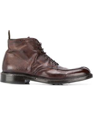Кожаные ботинки Green George