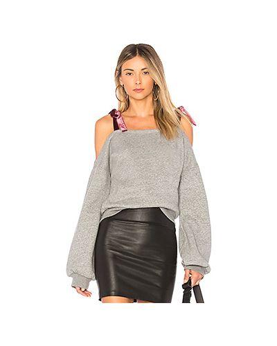 Вязаный свитер с открытыми плечами с воротником Lovers + Friends