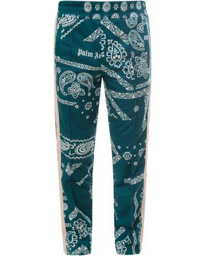 Spodnie - zielone Palm Angels