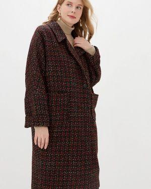 Разноцветное пальто - черное авантюра Plus Size Fashion