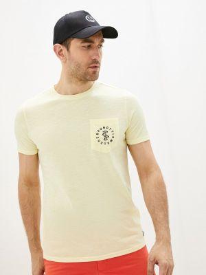Желтая футболка с короткими рукавами Brunotti