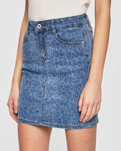 Юбка мини джинсовая на пуговицах Haily's