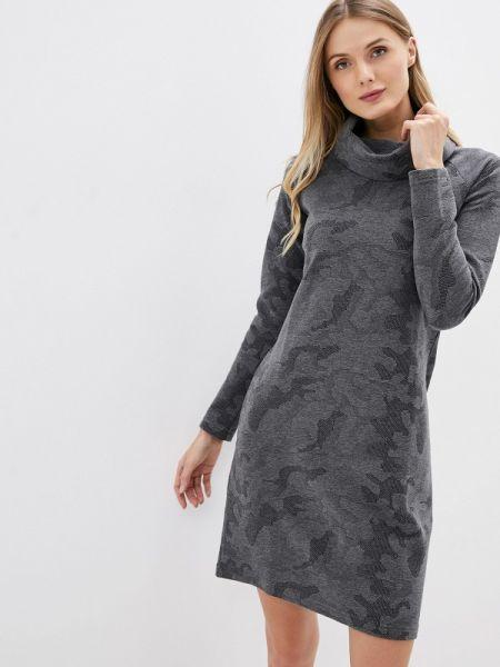 Платье - серое Galvanni