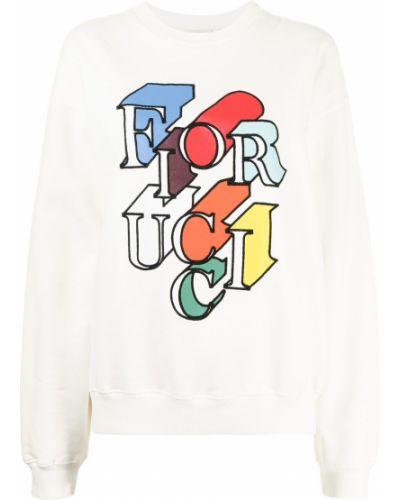Bluza dresowa - biała Fiorucci