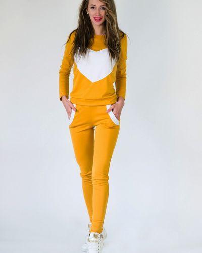 Спортивный костюм желтый Подіум