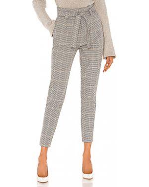 Кашемировые серые брюки с карманами свободного кроя Cupcakes And Cashmere