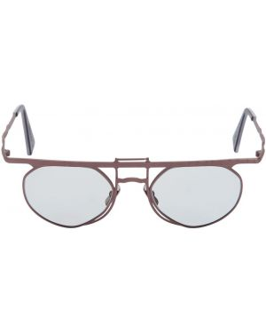 Brązowe okulary Kuboraum Berlin