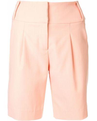 Однобортные розовые шорты Manning Cartell