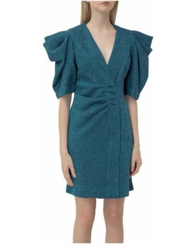 Niebieska sukienka kopertowa Circolo 1901
