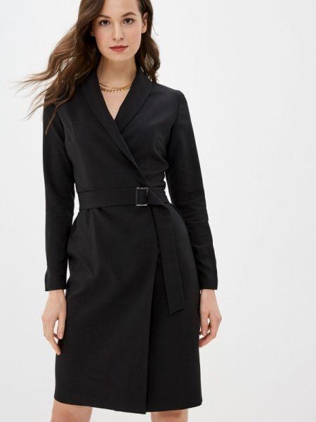 Платье платье-пиджак черное Zarina