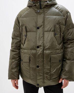 Зимняя куртка осенняя зеленая Odri