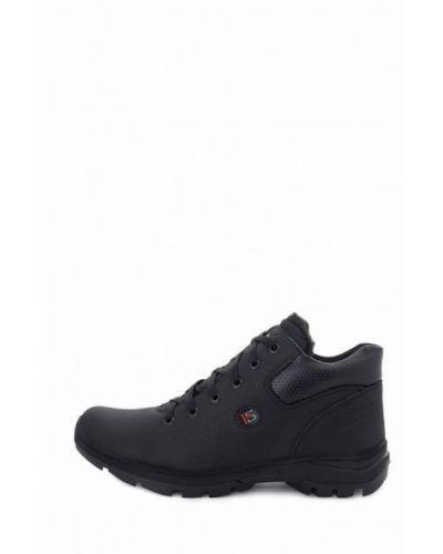 Кожаные ботинки - черные Philip Smit