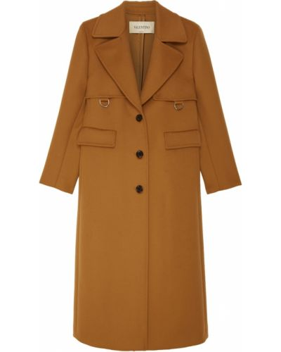 Пальто прямое однобортное Valentino