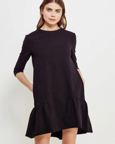 Платье польское черное Naoko