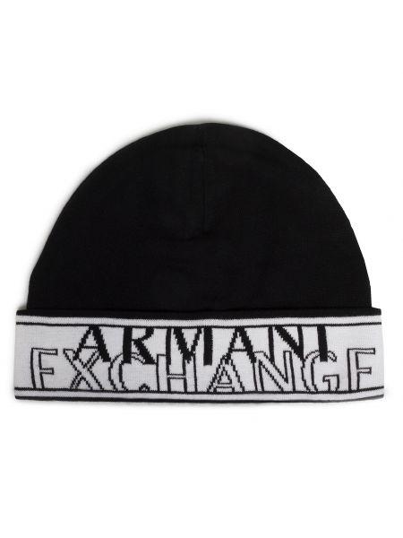 Czapka - biała Armani Exchange