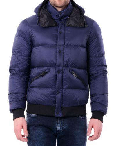 Синяя куртка осенняя Armani Jeans
