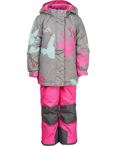 Спортивный костюм серый розовый Oldos Active