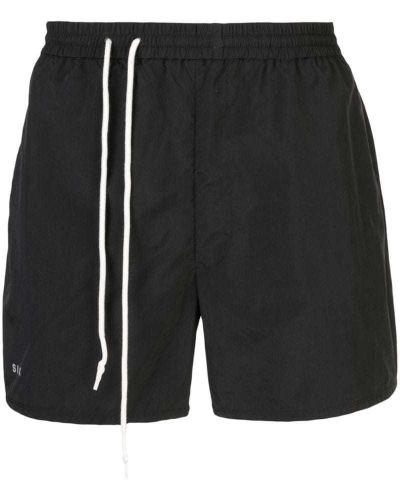 Черные спортивные шорты с карманами Siki Im