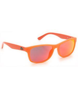 Okulary - czerwone Lacoste