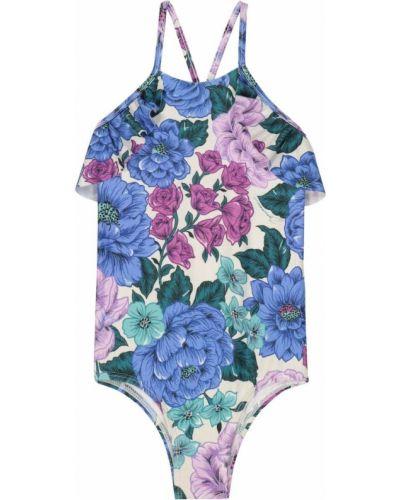 Fioletowy strój kąpielowy na basen Zimmermann Kids