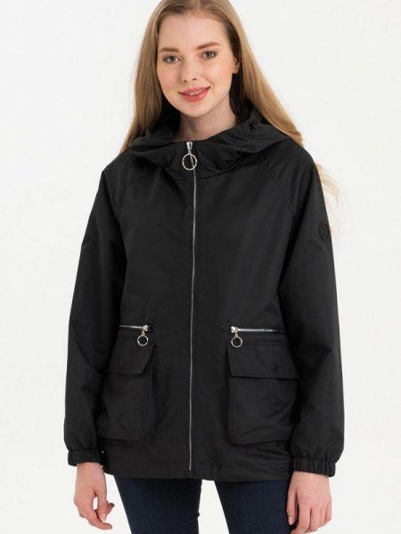 Облегченная черная куртка Lab Fashion