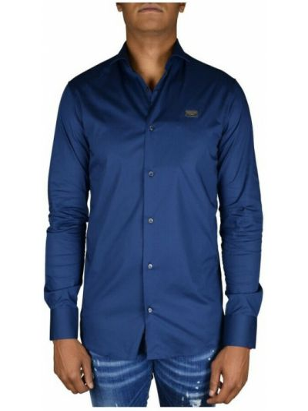 Niebieska koszula Philipp Plein