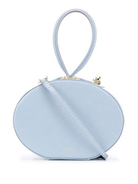 Niebieska torebka skórzana Cafuné