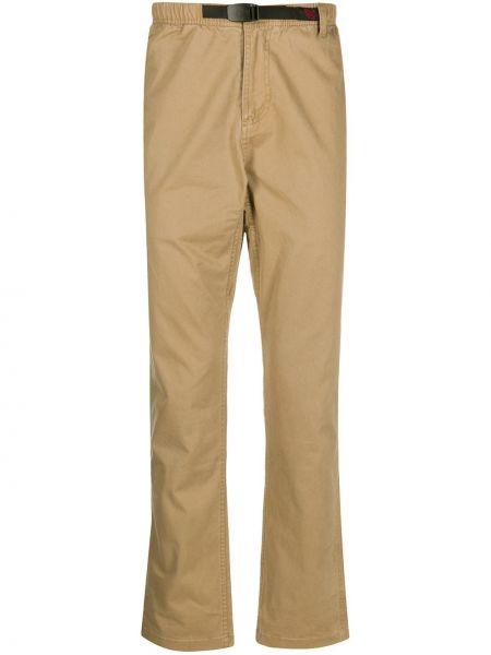 Spodnie o prostym kroju na wysokości z kieszeniami Gramicci
