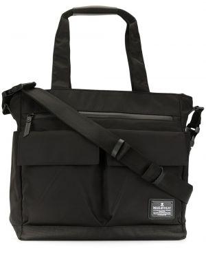 Черная сумка-тоут Makavelic