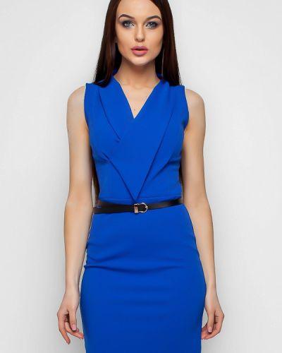 Синее платье весеннее Karree