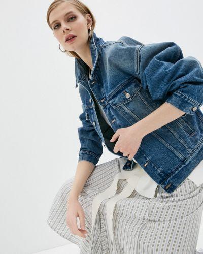 Синяя джинсовая куртка Mm6 Maison Margiela