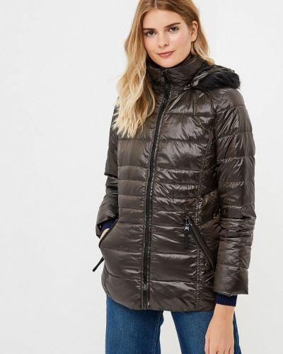 Зимняя куртка черная осенняя Colin's