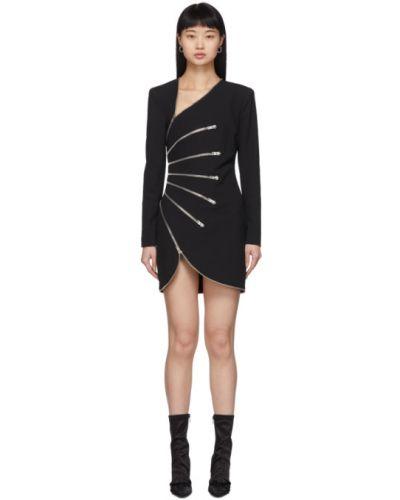 Платье макси с V-образным вырезом на молнии Alexander Wang
