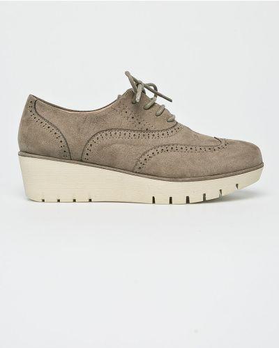 Зеленые туфли текстильные Corina
