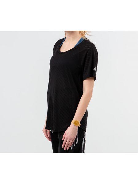 Рубашка черная Adidas Performance