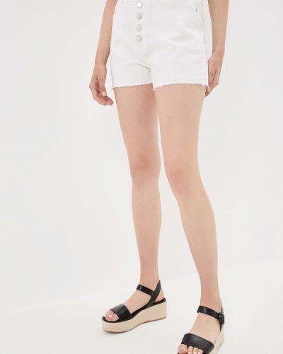 Белые джинсовые шорты со стразами Q/s Designed By