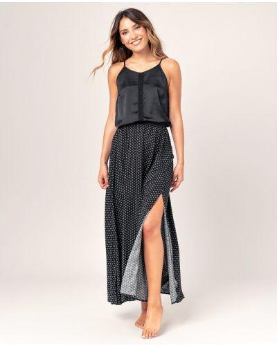 Платье макси длинное - черное Rip Curl