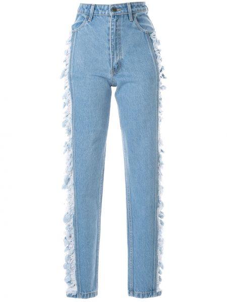 Прямые джинсы с карманами Pony Stone