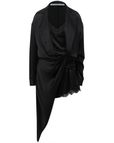 Шелковое платье с подкладкой Alexander Wang