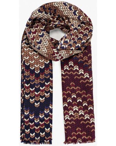 Коричневый шарф Fabretti