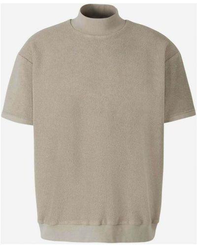 T-shirt bawełniana - szara Fear Of God