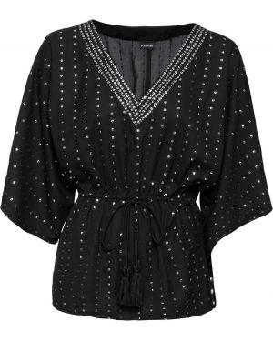 Блузка с пайетками боди Bonprix