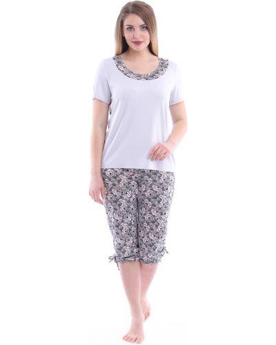 Пижама большой с бриджами одевайте