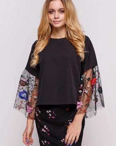 Блузка с рюшами осенняя Zubrytskaya