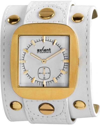Водонепроницаемые часы на кожаном ремешке с подсветкой Axcent Of Scandinavia